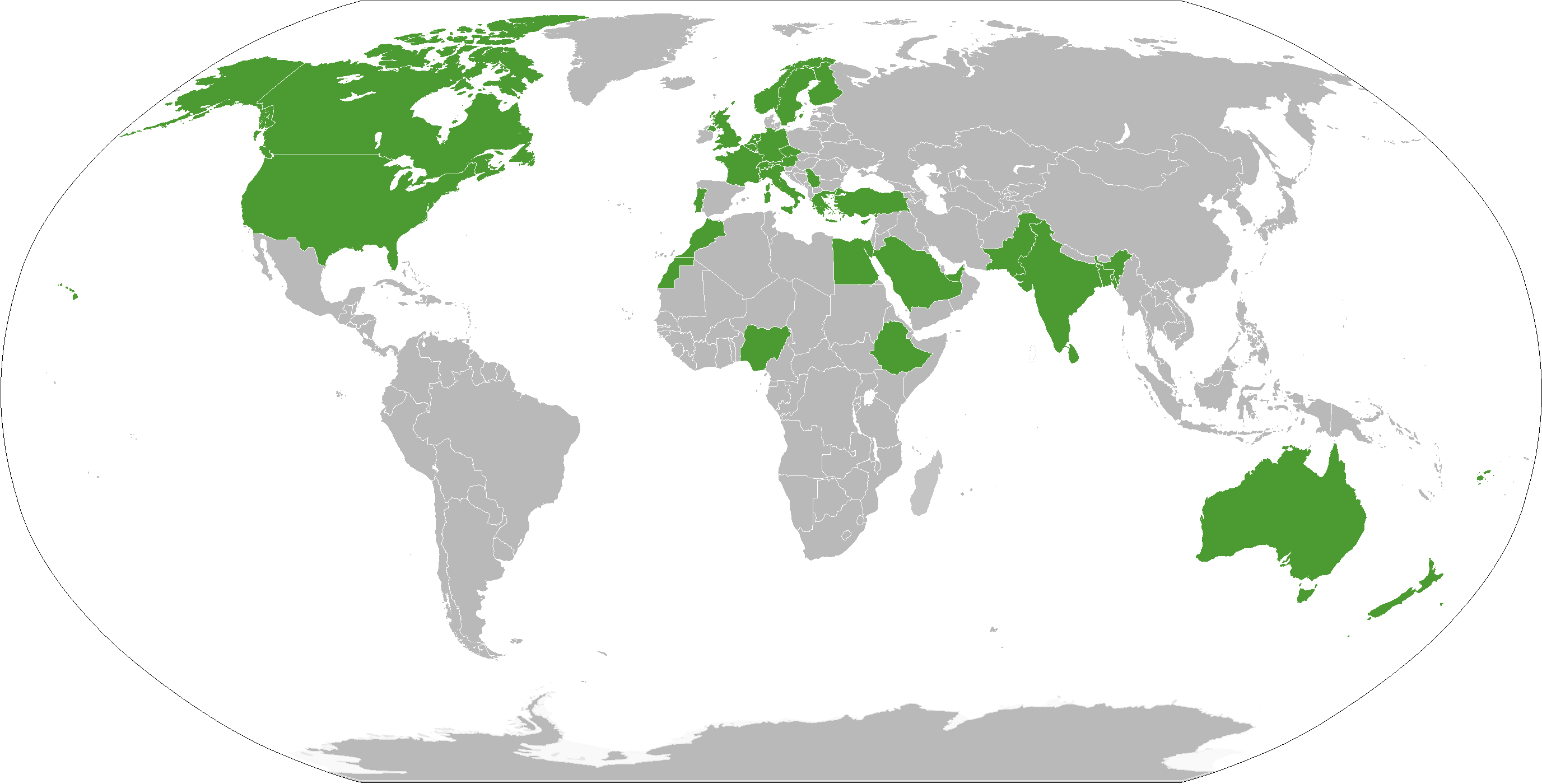 KohaCon16 - Participating countries